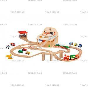 Деревянная игрушка «Железная дорога», 82546