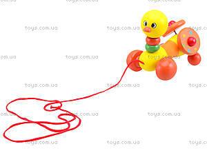 Деревянная игрушка-каталка для детей «Животные», W02-5220