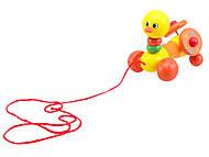 Деревянная игрушка-каталка для детей «Животные», W02-5220, купить