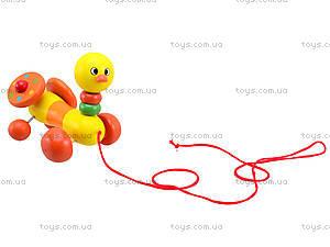 Деревянная игрушка-каталка для детей «Животные», W02-5220, отзывы