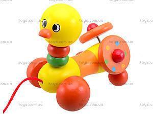 Деревянная игрушка-каталка для детей «Животные», W02-5220, цена