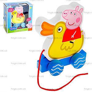 Деревянная игрушка-каталка «Веселое путешествие», 24444, купить