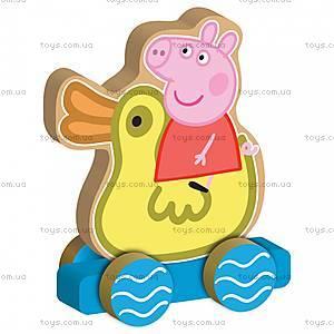 Деревянная игрушка-каталка «Веселое путешествие», 24444, фото