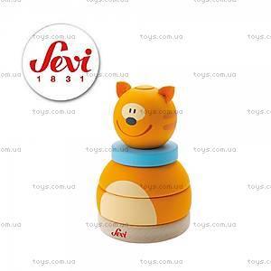 Деревянная игрушка-конструктор «Кот», 82396