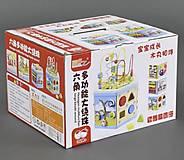 Деревянная игрушка «Куб-Логика», С23089
