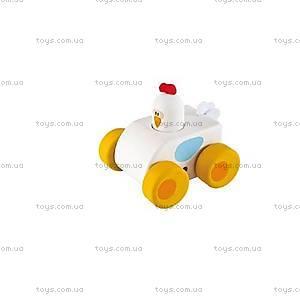 Деревянная игрушка «Машинка», белая, 82523