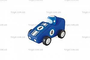 Деревянная игрушка «Машинка F1», 82633