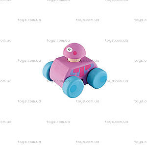 Деревянная игрушка «Машинка», фиолетовая, 82522