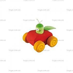 Деревянная игрушка «Машинка», красная, 82524