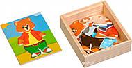 Деревянная игрушка «Медвежонок Миша», Д181б