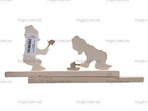 Деревянная игрушка «Мишки», 171878, купить