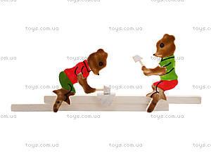 Деревянная игрушка «Мишки», 171878, фото