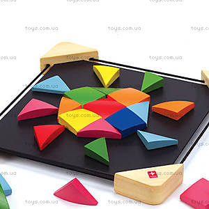 Деревянная игрушка на магнитах Magnetic Mosaic, 897664, фото