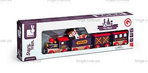 Деревянная игрушка-поезд «Далекий запад Стори бокс», J08533