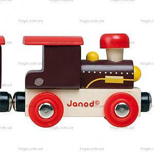 Деревянная игрушка-поезд «Далекий запад Стори бокс», J08533, купить
