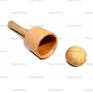 Деревянная игрушка «Поймай шарик», Д130у