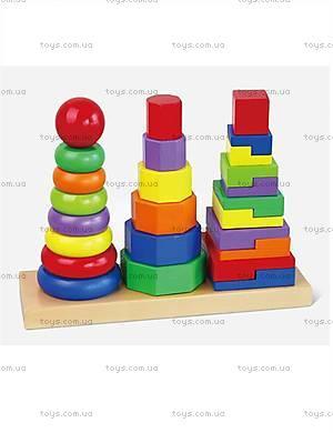 Деревянная игрушка-пирамидка от Viga Toys, 50567VG