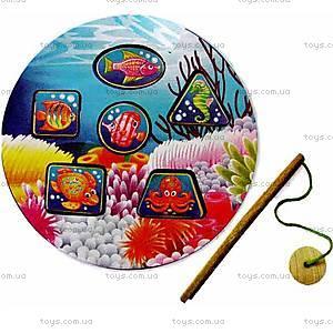 Детская деревянная игрушка «Рыбалка», 8058-06, купить