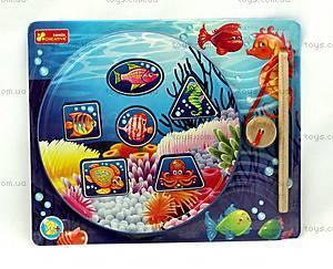 Детская деревянная игрушка «Рыбалка», 8058-06