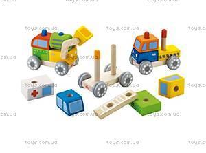 Деревянная игрушка «Скорая», 82403s, купить