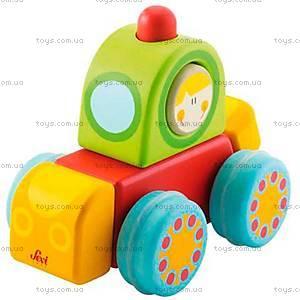 Деревянная игрушка «Скрипучая машинка», 82653