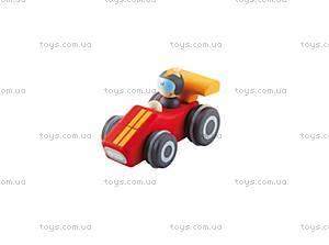 Деревянная игрушка «Скрипучая машинка», спортивная, 82654