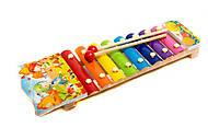 Деревянно-музыкальный ксилофон, 0393, отзывы
