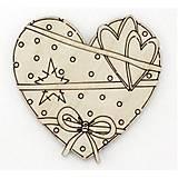 Деревянное магнитное сердце, 2-061, отзывы