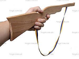 Деревянное ружье для игры, 50 см, 171861у, игрушки