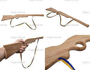 Деревянное ружье для игры, 50 см, 171861у