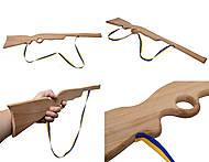Деревянное ружье для игры, 50 см, 171861у, купить игрушку