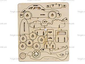 Деревянный пазл 3D «Машина Порше», , купить