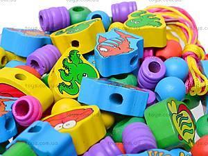Деревянные бусы, W09-290, игрушки
