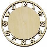 Заготовка «Деревянные часы для декупажа», LY1411-0373, фото