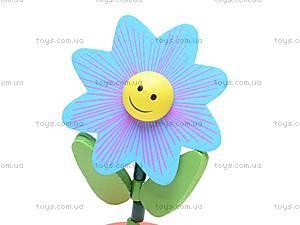 Деревянные цветы-марионетки, W02-3065, фото