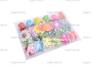 Деревянные цветы-марионетки, W02-3065, цена