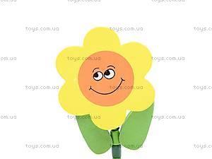 Деревянные цветы-марионетки, W02-3065, игрушки