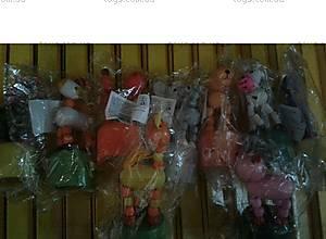 Деревянные фигурки-марионетки, W02-1483, детские игрушки