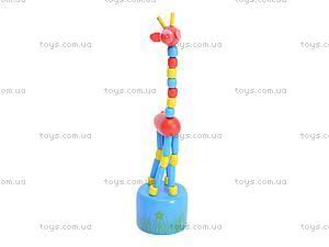 Деревянные жирафы-марионетки, W02-3061, купить
