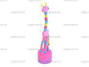 Деревянные жирафы-марионетки, W02-3061, цена