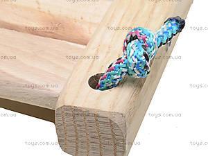 Деревянные качели подростковые, КАЧ4017, цена