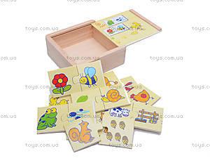 Деревянные карточки «Найди пару», 2012-006