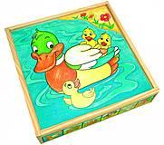 Деревянные кубики «Животные», 84173, отзывы