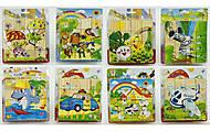 Деревянные кубики разных видов, 0511