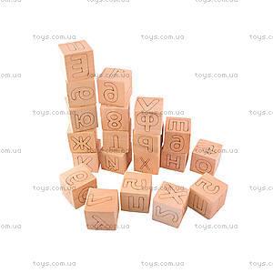 Деревянные кубики сложи Слово + Примеры, 77837