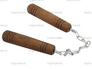 Деревянные нунчаки, 141-020, купить