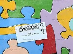 Деревянные пазлы «Коровка», 2489-1 (А-15), купить