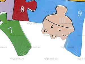 Деревянные пазлы «Коровка», 2489-1 (А-15), цена