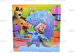 Деревянные пазлы «Маша и Медведь», 2012-005