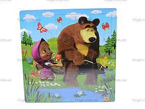 Деревянные пазлы «Маша и Медведь», 2012-005, фото